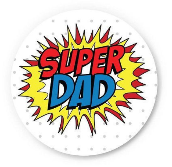 Picture of 6/17 - My dad is a Superman! (Father's day special)